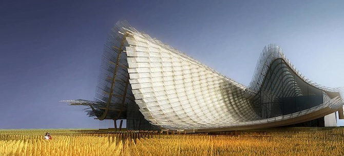 China Pavilion ar Milan Expo