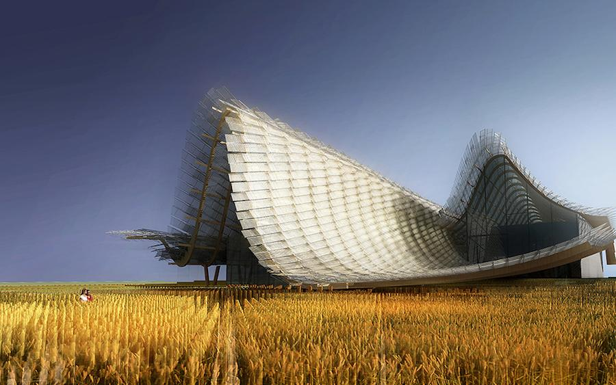 China Pavilion for Expo Milan 2015.