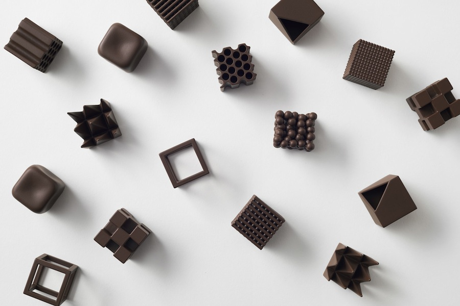 Chocolate Design by Nendo - Courtesy of Nendo