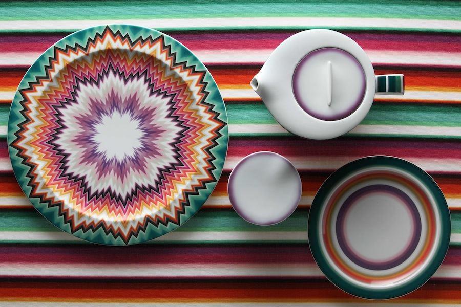 Missoni Home tableware - Zig Zag.