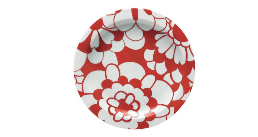 Missoni Home tableware - Red & White.