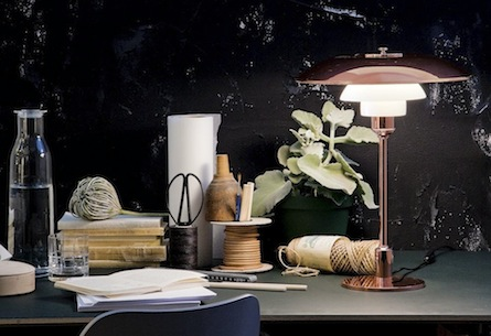 Copper PH 3½-2½ Lamp