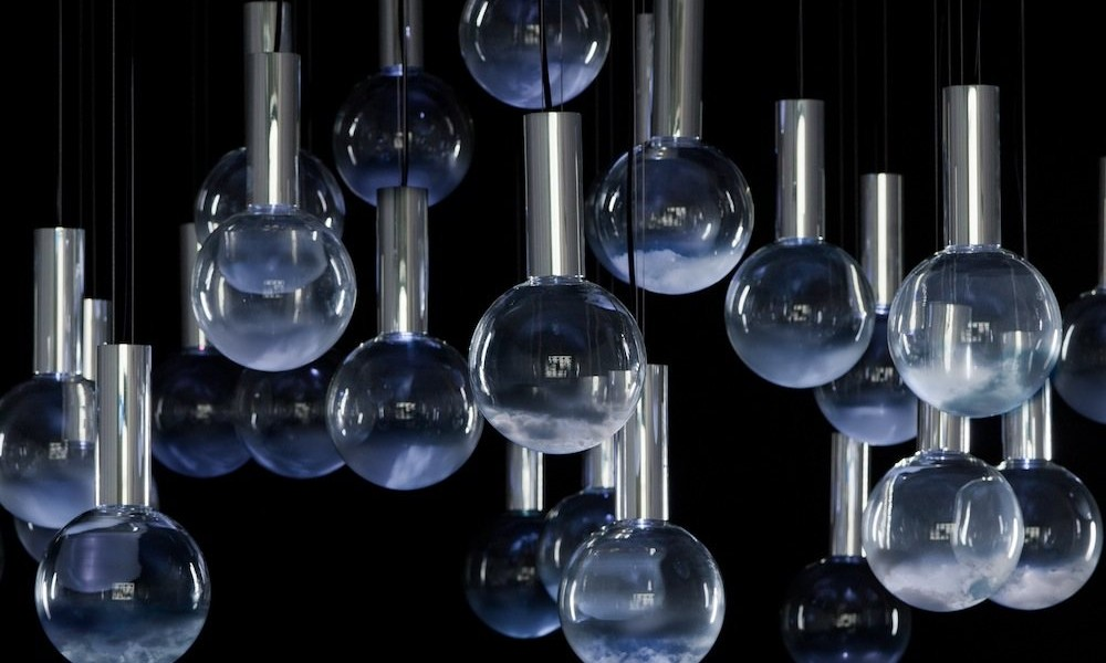 Lumière cinematic light installation by Commonplace Studio