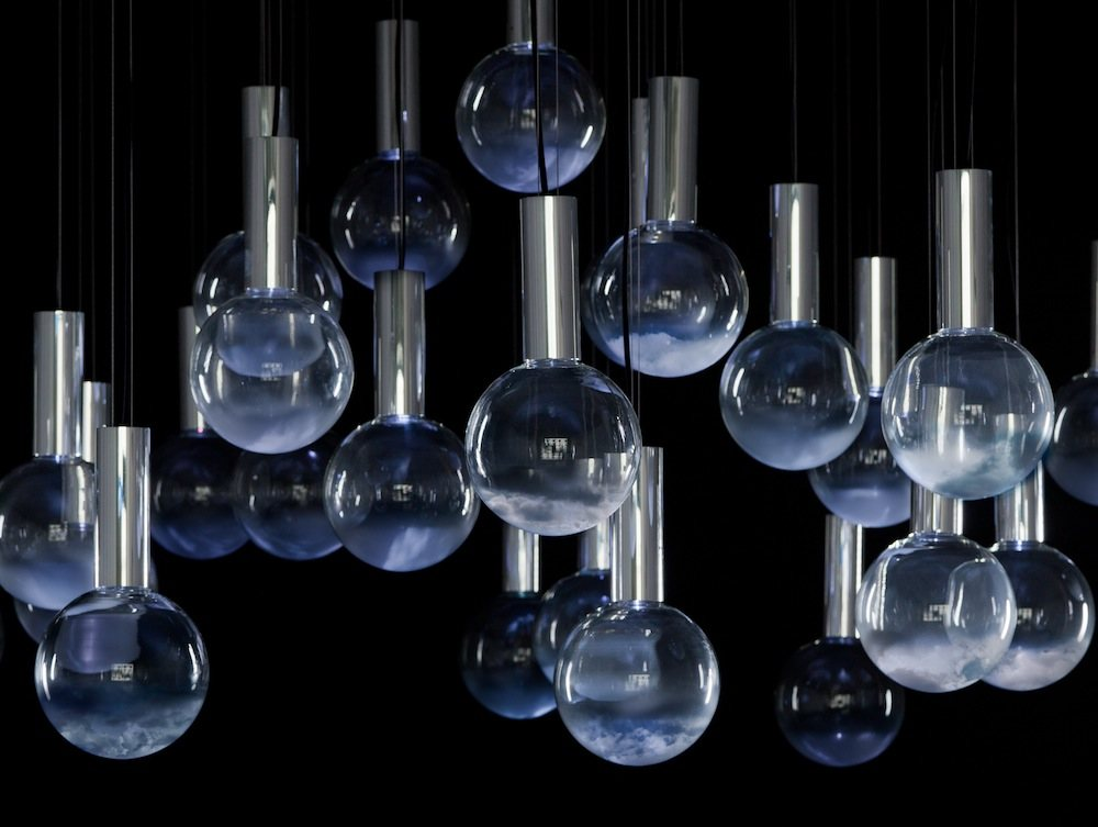 Lumière cinematic light installation by Commonplace Studio - Courtesy of Victor Hunt Designart dealer.