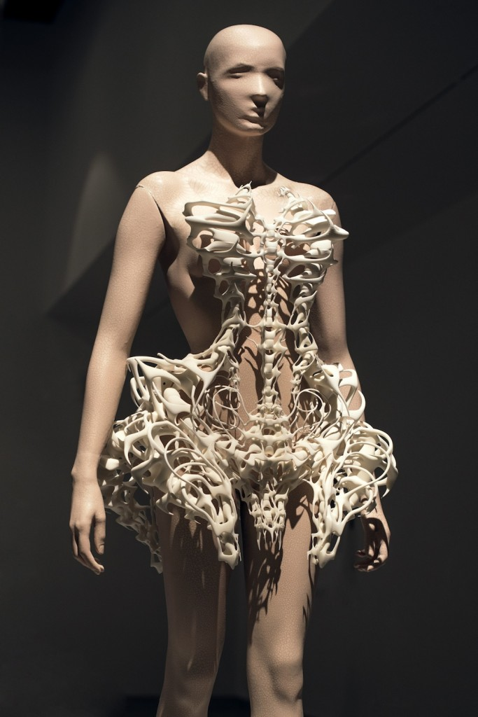 Iris van Herpen: Skeleton Dress.