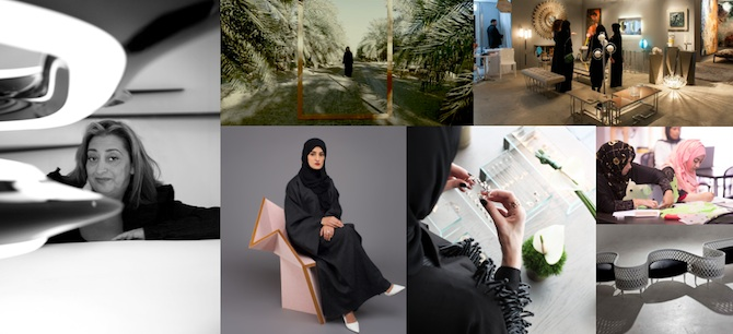 Women shaping Middle East design