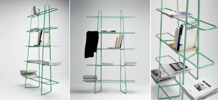 Line Shelf - Courtesy of Frank Chour Design Studio.