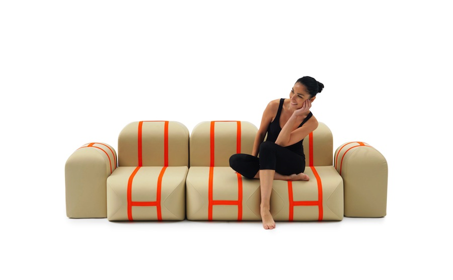 Self Made sofa by Matali Crasset for Campeggi - Photo by Enzo Prandini.