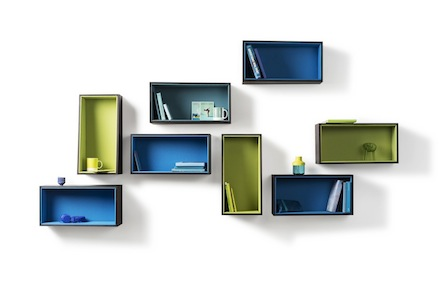 Cocoon Shelves System