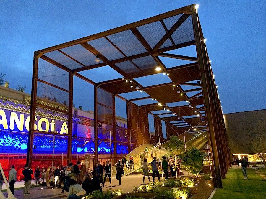 Brazil pavilion on Expo 2015