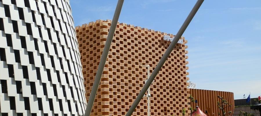 Poland pavilion on Expo 2015