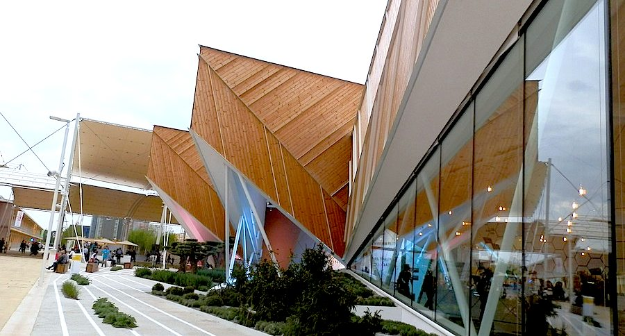 Slovenia Pavilion at Expo Milano 2015 - Photo by Enrico Zilli.