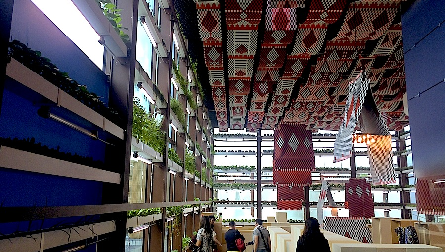 Kuwait Pavilion at Expo Milano 2015 - Photo by Enrico Zilli.