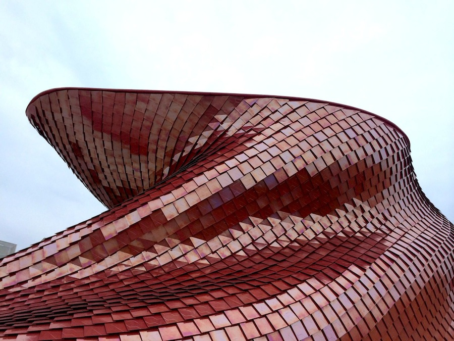 Daniel Libeskind-  Vanke Pavilion.
