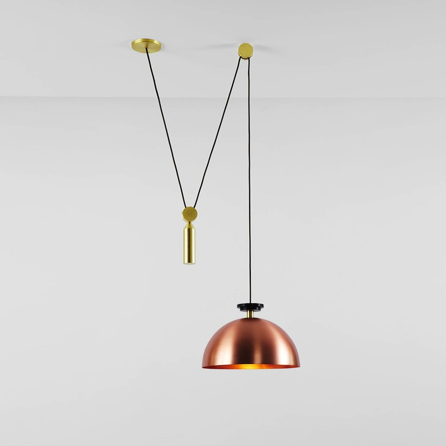 Shape Up Lighting Series by Ladies and Gentlemen - Courtesy of Roll & Hill.