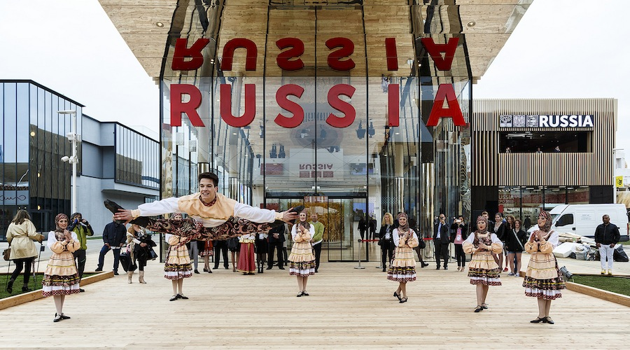 Russia Pavilion at Expo Milano 2015 - Photo by Luca Rotondo, Courtesy of Russia Pavilion.