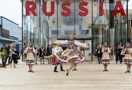 Russia at Milan Expo 2015
