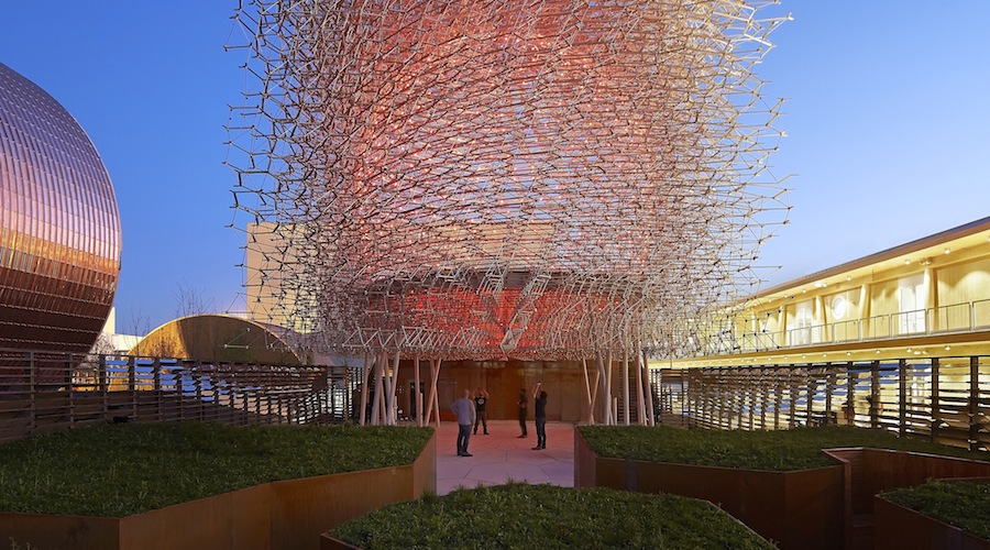 UK Pavilion at Expo Milano 2015