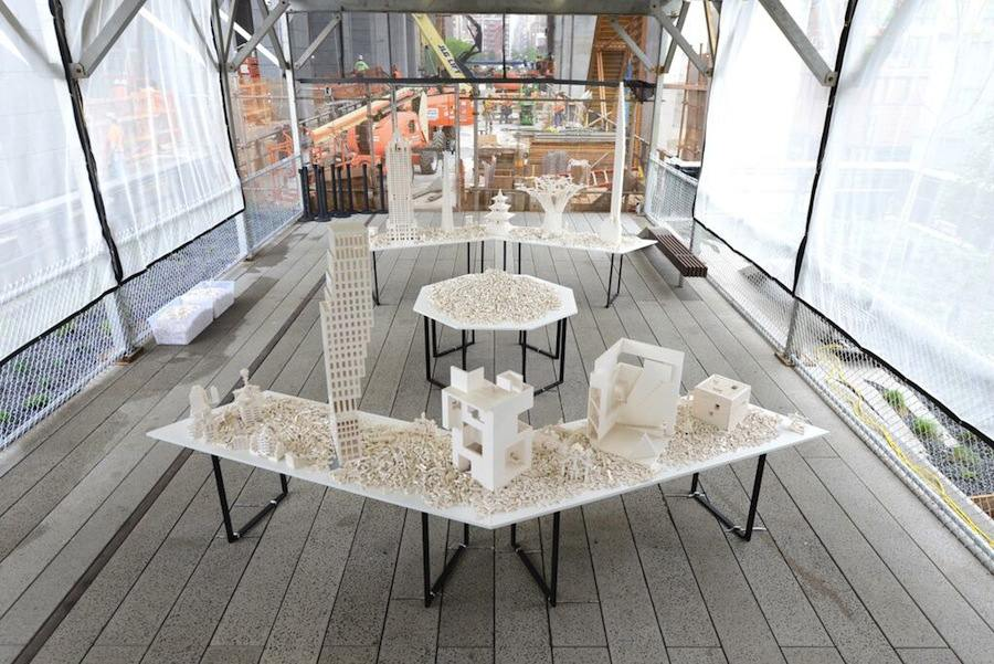 The Collectivity Project by Olafur Eliasson - Photos by Timothy Schenck, courtesy of Friends of the High Line