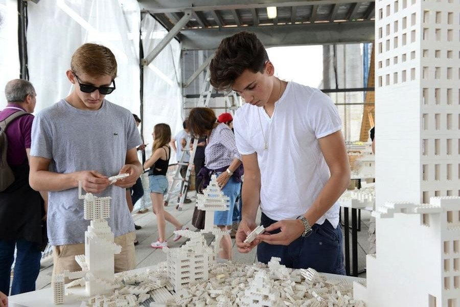 The Collectivity Project by Olafur Eliasson on NYC HighLine