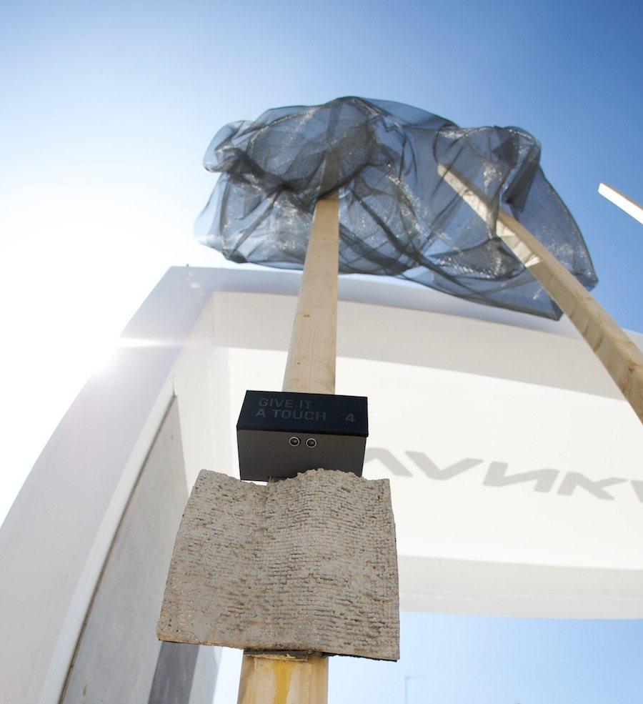 """""""The Sound of Concrete"""" Ivanka at Milan Design Week."""