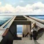 Casa Brutale by OPA merges into Greek cliffside