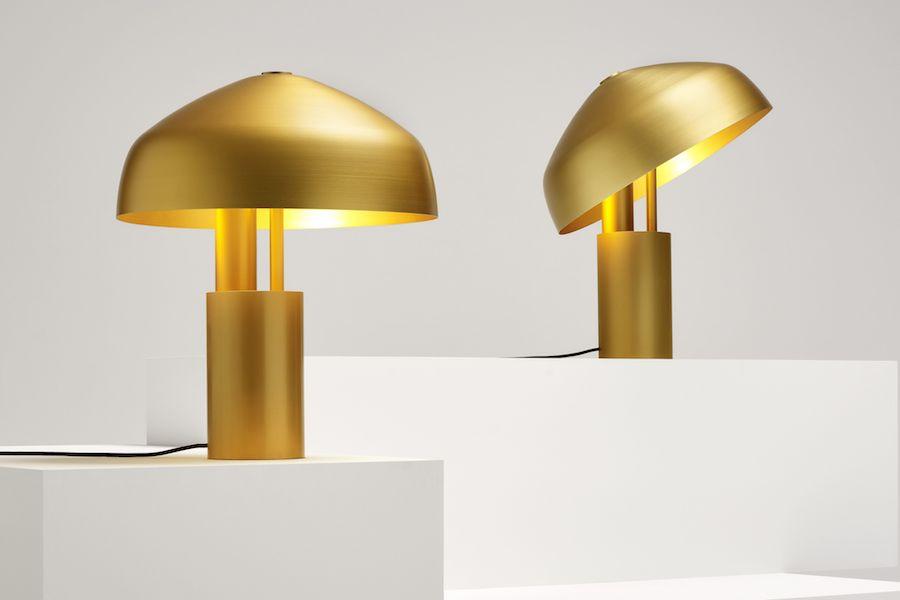 Aura Desk Lamp by Ross Gardam.
