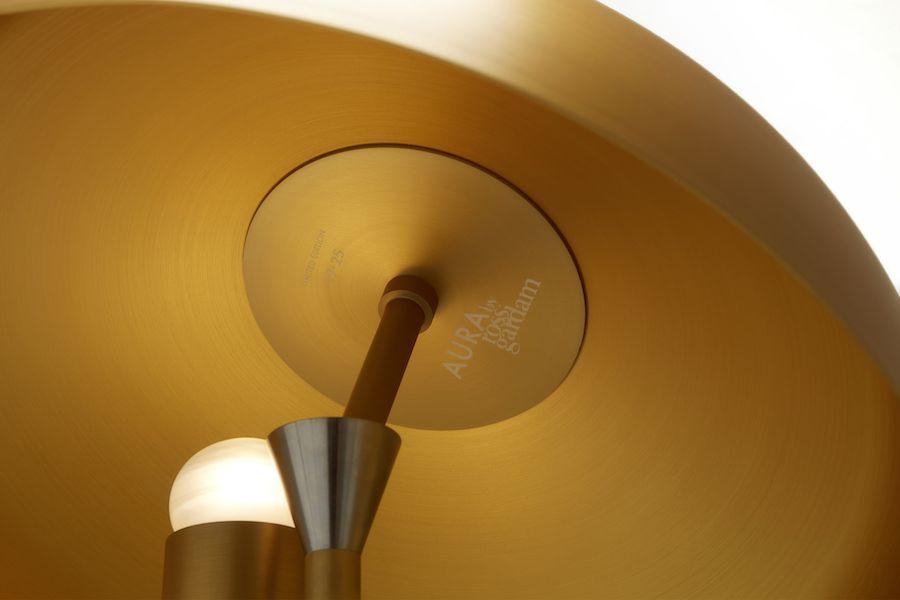 Aura Desk Lamp by Ross Gardam