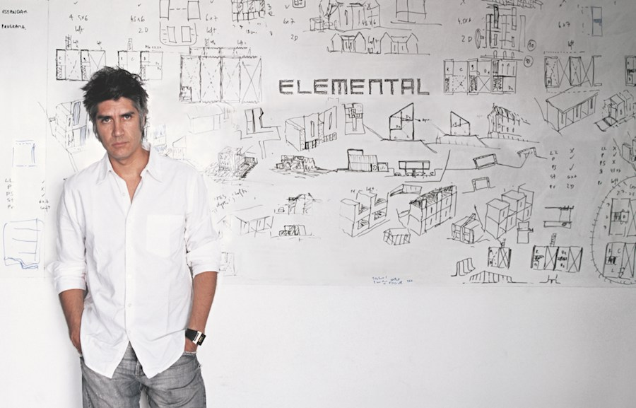 Portrait of Alejandro Aravena - Photo by Cristobal Palma, courtesy of ELEMENTAL.