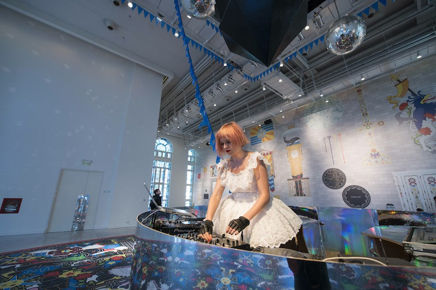 Dj Henry at Futopia Faena by Studio Job at Faena Art Center Buenos Aires - Photos: courtesy of Faena.