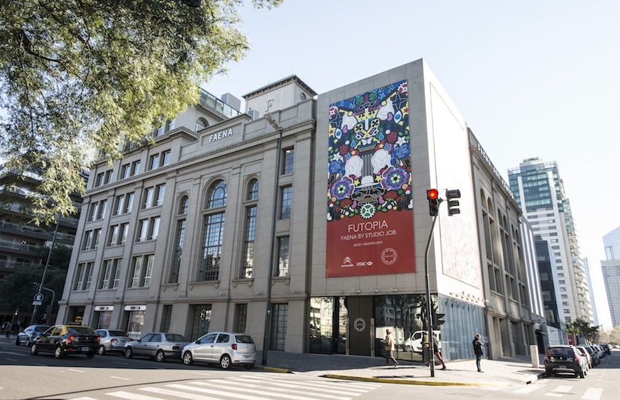 Futopia Faena by Studio Job at Faena Art Center Buenos Aires