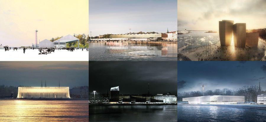 Guggenheim Helsinki - Finalists Composite.