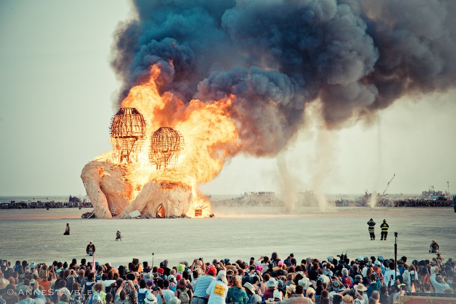 Burning Man - ©AnneStaveley