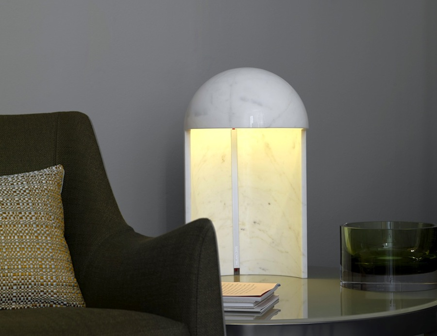 Milano2015 marble table lamp by Carlo Colombo 02