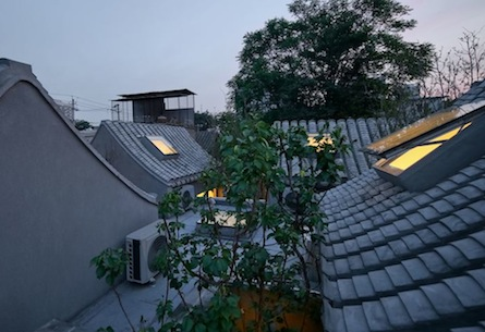 Beijing Split Courtyard Houses