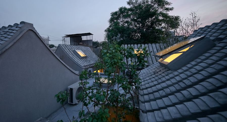 TAO Trace Architecture Office: Split courtyard house - Beijing, 2015. Photos: courtesy of TAO and Beijing Design Week.