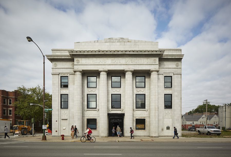 Stony Island Arts Bank - Photo by Tom Harris, courtesy of Chicago Architecture Biennale.