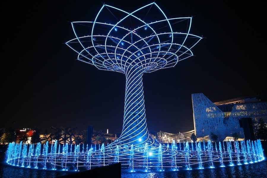 Expo 2015: Tree of Life by Marco Balich with Gioforma - Photo by Daniele Mascolo e Stefano Porta, courtesy of Expo 2015.