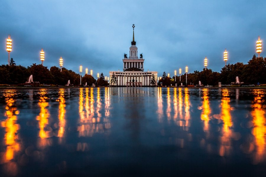 VDNKh - Photo by Sergey Norin.