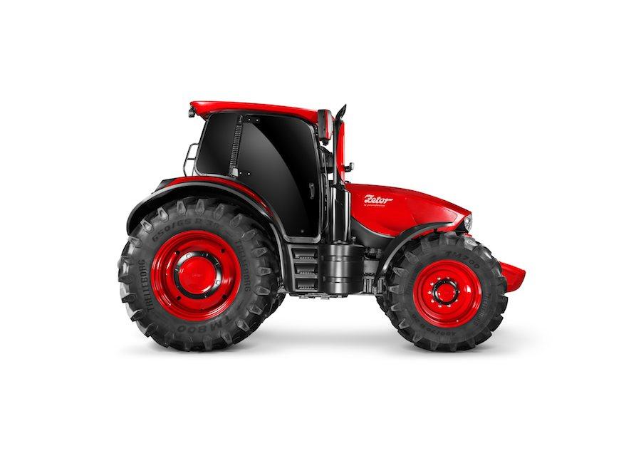 Zetor by Pininfarina super tractor - Photos and video: courtesy of Pininfarina.