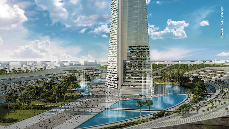 Al Noor Tower - Photo: by Valode & Pistre architectes.
