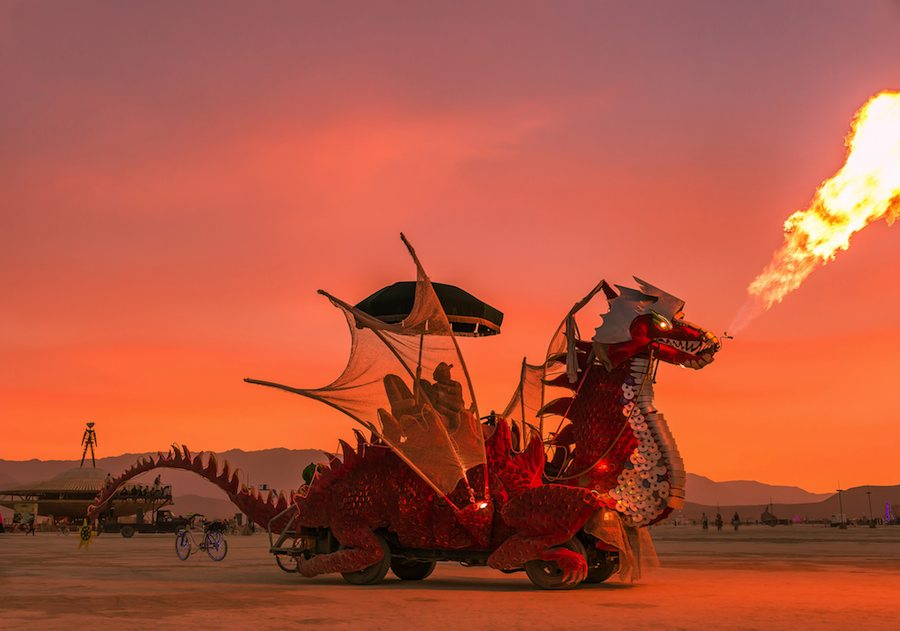 Burning Man art cars