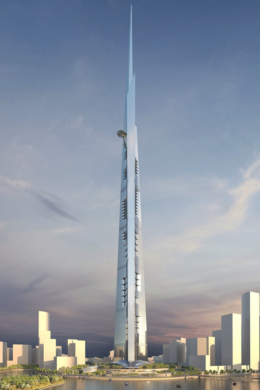 The Kingdom Tower - Courtesy of AS+GG.