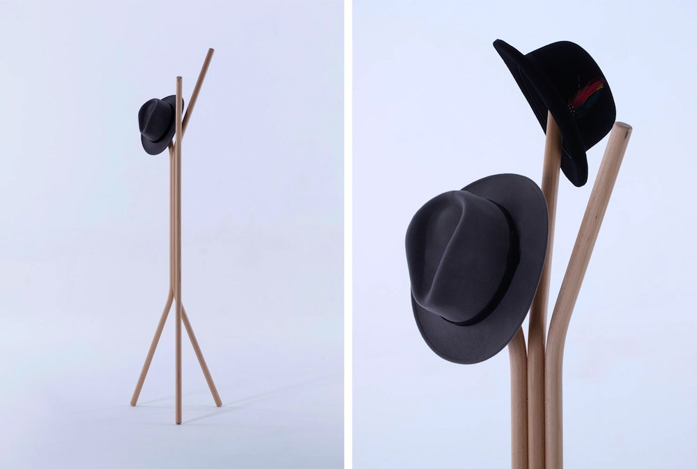 Hat-rack by PearsonLloyd.