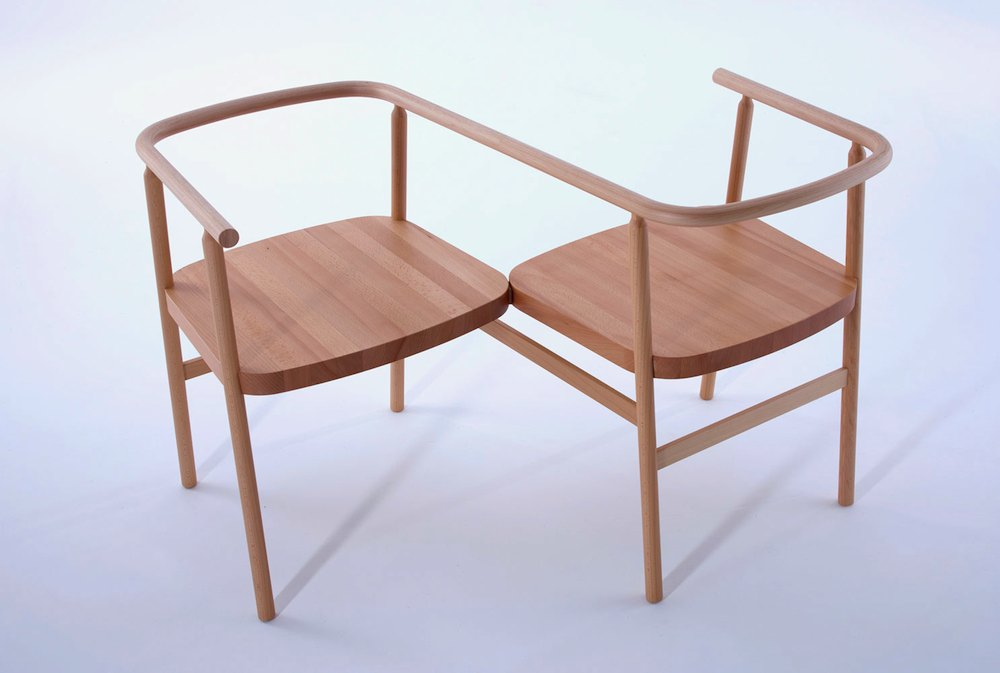 Love seat by PearsonLloyd.