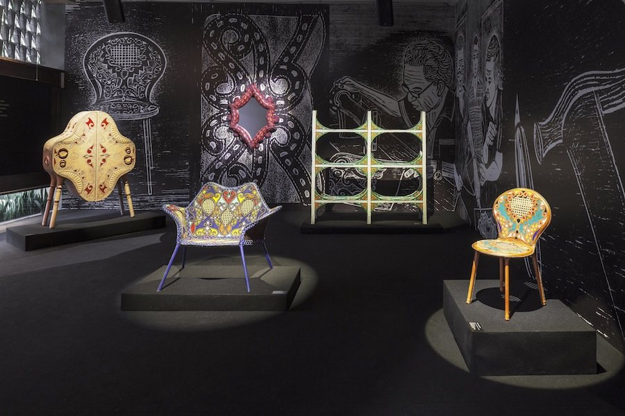 Cangaco furniture collection by Campana Brothers - Courtesy of Firma Casa.