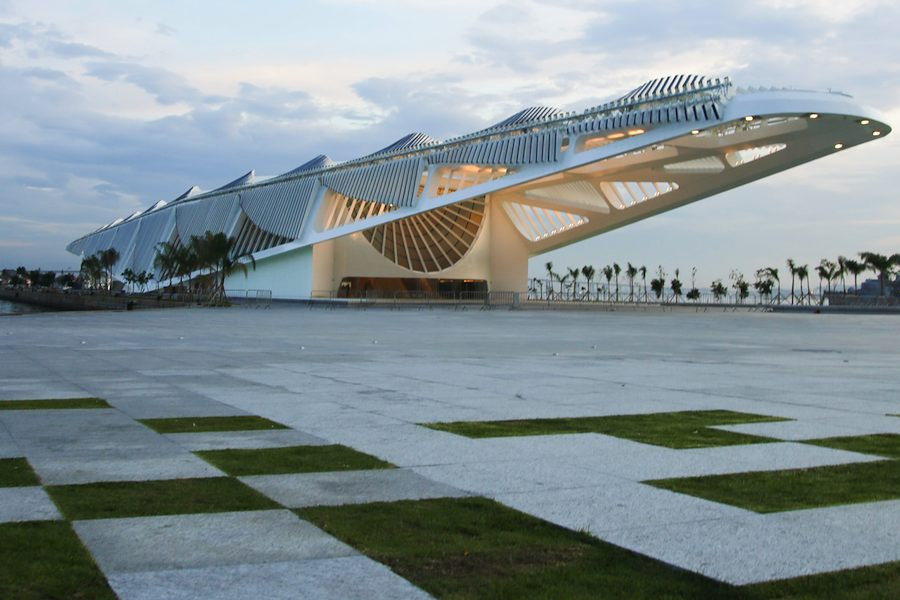 Santiago Calatrava: Museum of Tomorrow - Photo by Bernard Lessa.