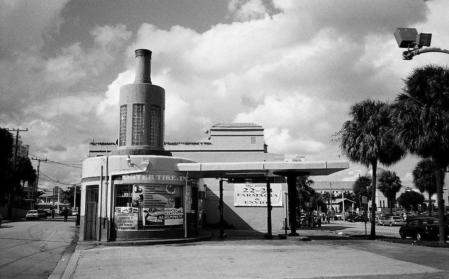 Phillip Pessar – Former Gulf Gas Station 1941