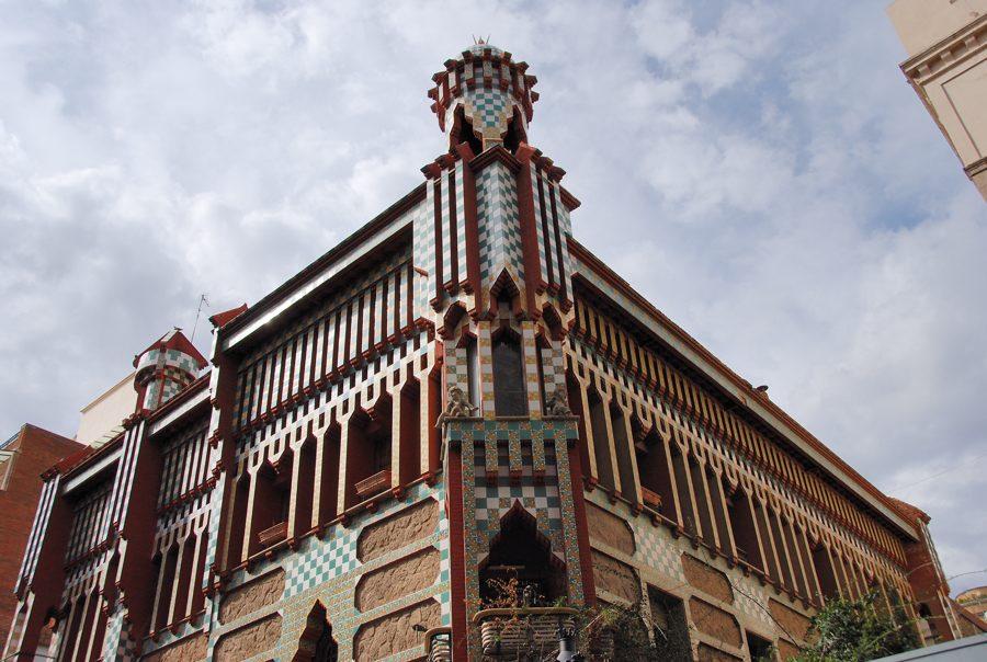 Antoni Gaudi: Casa Vicens - Photo by Akarat Akwisarn Flickr CC.