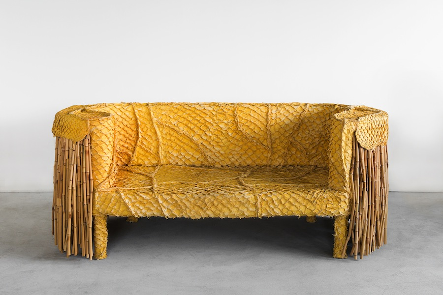 Pirarucu Sofa by Humberto and Fernando Campana for gallery FriedmanBenda - Courtesy of FriedmanBenda.